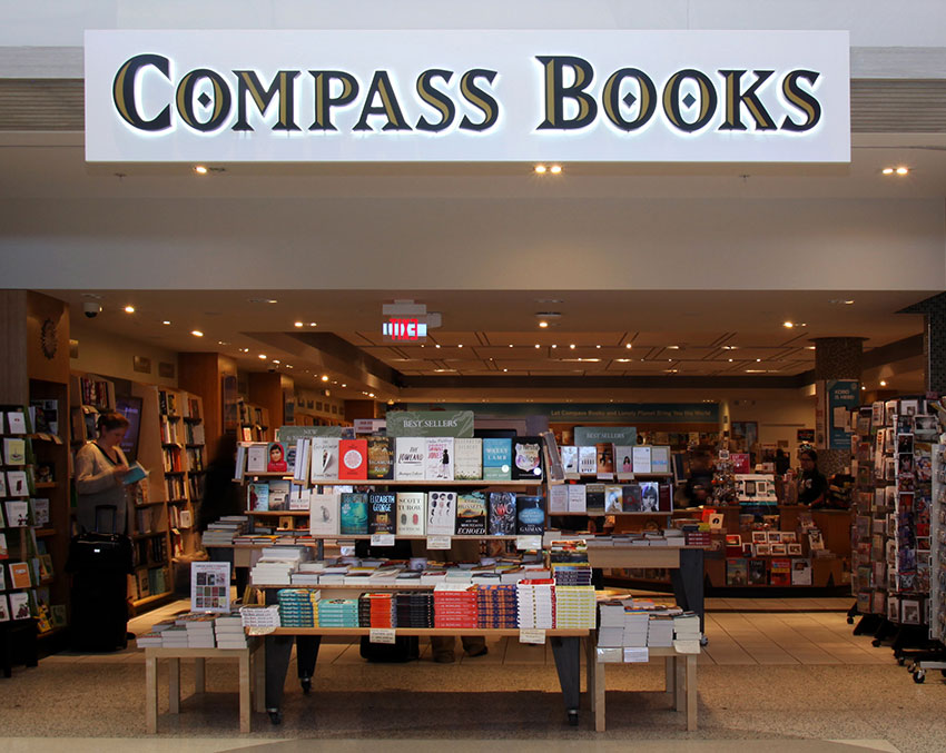 View large version of Compass Books.