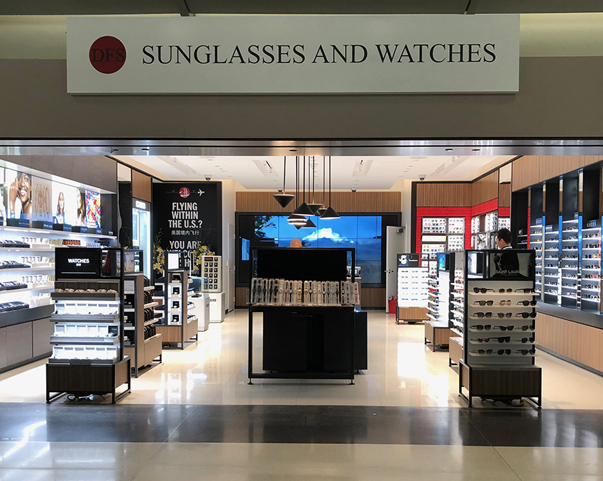 View large version of DFS Sunglasses and Watches   DFS 太阳眼镜与手表.