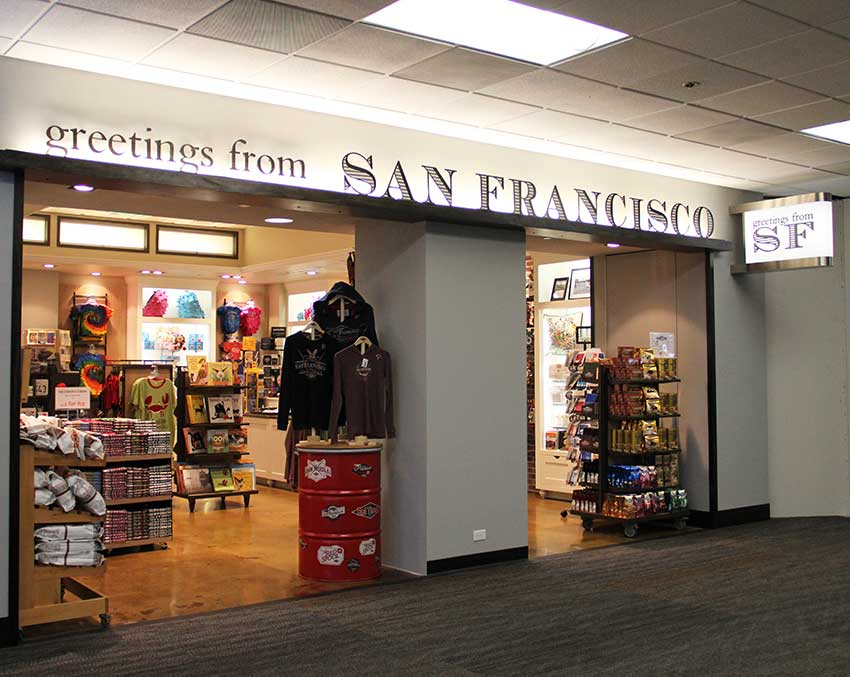 View large version of Greetings from San Francisco.