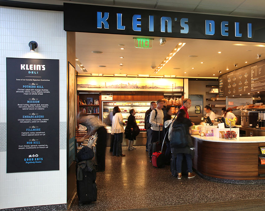 View large version of Klein's Deli and Coffee Bar | Klein's 熟食咖啡馆.